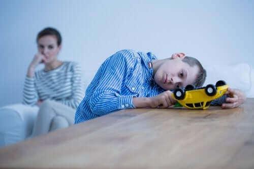 Psykiska sjukdomar hos barn och dess symptom