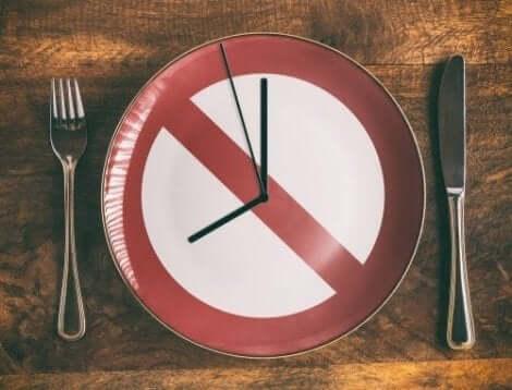 Ät på bestämda tider