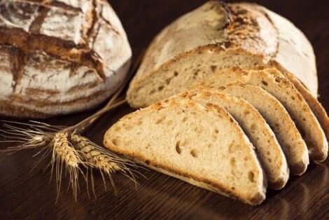 Fullkornsbröd är nyttigt