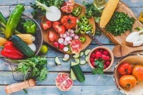 Grönsaker har kolhydrater som inte orsakar viktuppgång