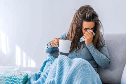Hur influensan påverkar kroppen