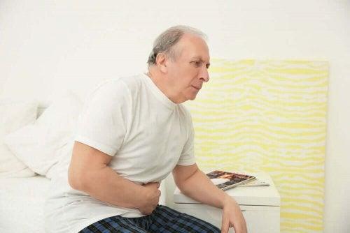 Man med prostataproblem