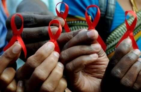 Röda bandet för AIDS