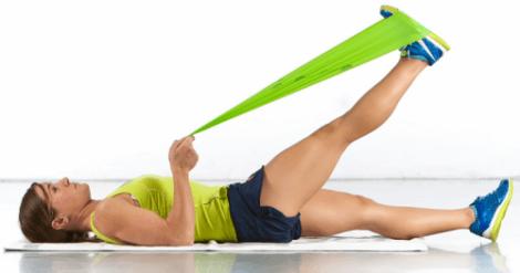 Stretchövningar vid artros i knäna