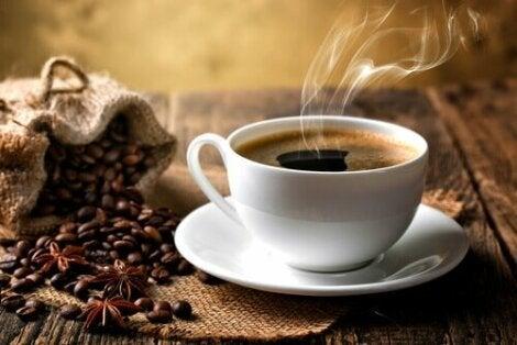 hur mycket kaffebönor per kopp