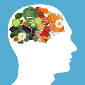Medan kolhydrater ökar serotoninnivåerna i hjärnan, gör proteiner och fetter så att nivåerna minskas.