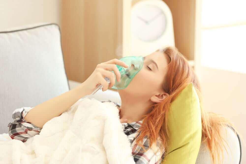 Akut svår astma är en ofta förekommande anledning till sjukhusbesök.