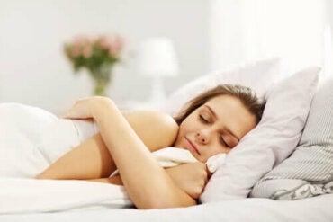 Behov av sömn beroende på ålder
