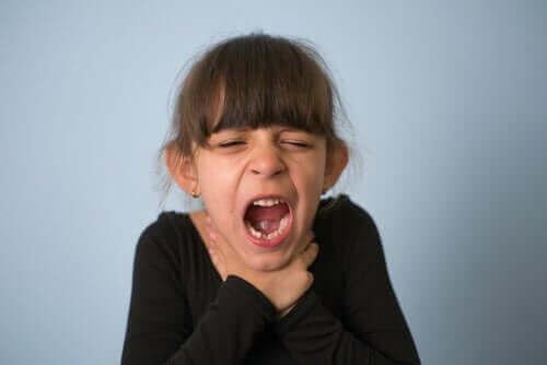 Kvävning hos barn: förebyggande och hantering