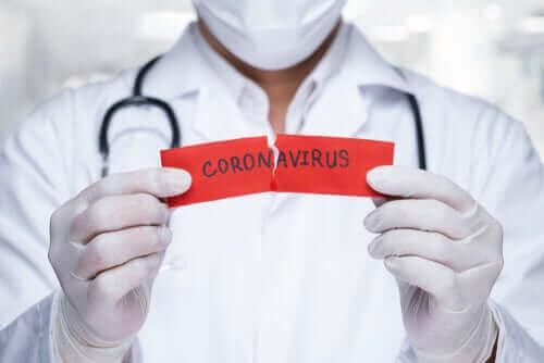 Några vanliga myter om coronaviruset