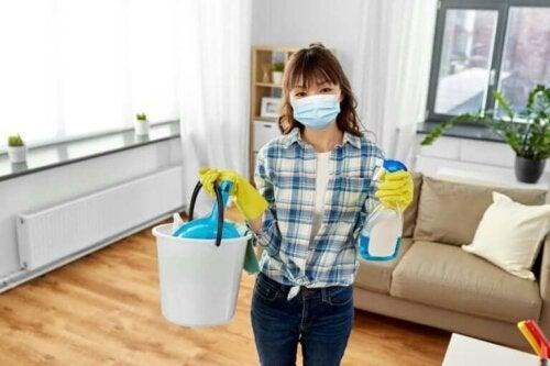 Coronavirus: Så kan du desinficera och rengöra ditt hem