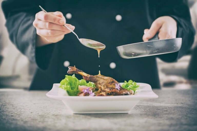Gourmetmat är ett avv våra förslag på bröllopsmeny
