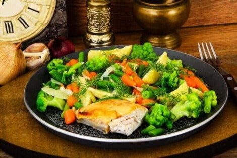 ät mer grönsaker