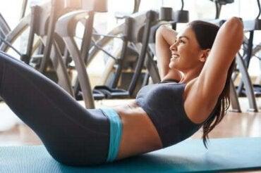 Övningar för magen som inte skadar ryggen