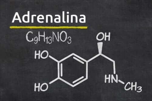 Adrenalin, kemisk formel