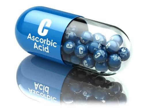Olika områden där man använder askorbinsyra