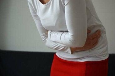 ont i magen klimakteriet
