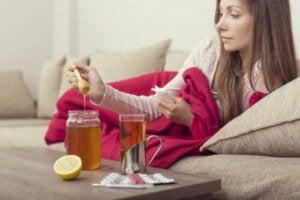 Tre huskurer med honung som kan lätta på influensan