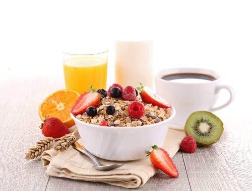 En nyttig frukost ger dig bra näring.