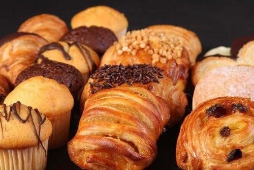 Bröd från storbagerier: bakverk