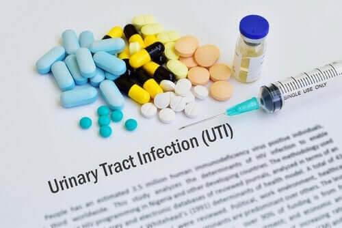 Olika sorters antibiotika för urinvägsinfektioner