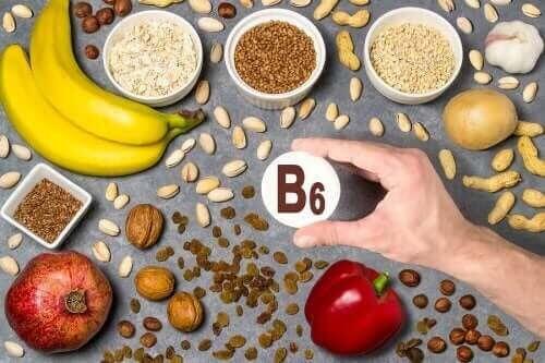 vattenlösliga vitaminerna: vitamin B6