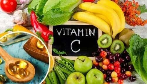 vattenlösliga vitaminerna: vitamin C