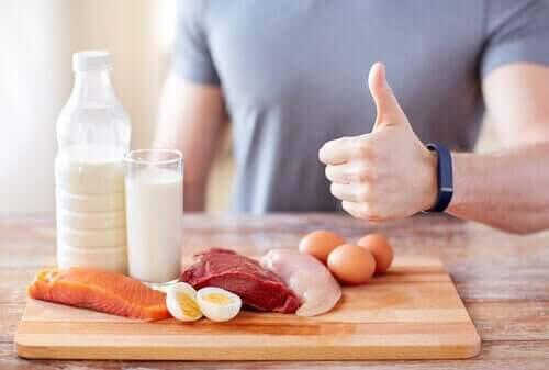 proteinrik mat är bra kost vid njursvikt