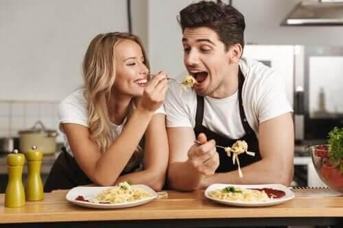 Ett bra förhållande är att göra roliga saker tillsammans