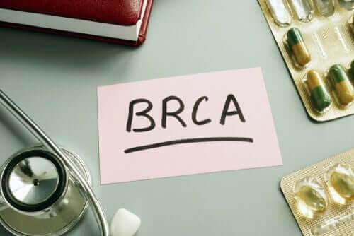 BRCA1 och BRCA2 på lapp