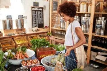Matens färg och dess näringsvärde