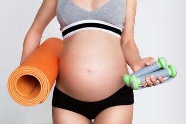 Motion och graviditet: Saker att tänka på