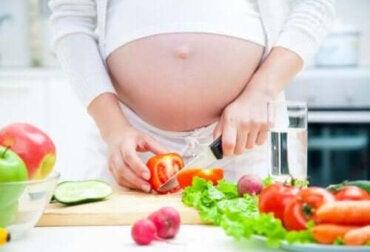 Vikten av kosthållningen under graviditeten