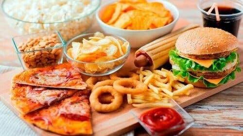 dålig mat för sund glukosbalans
