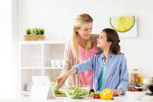 Vegan som tonåring: en växande trend