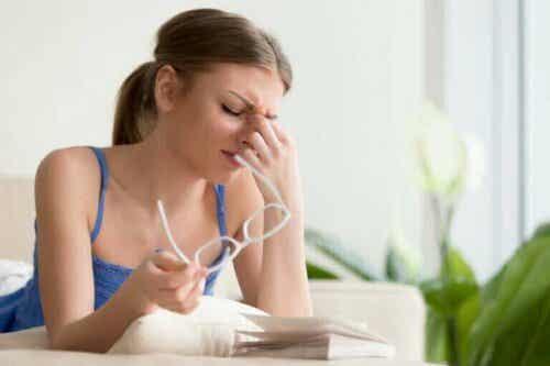 Okulär migrän: vilka är symptomen och varför uppstår de?