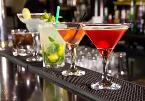 drink på maten: olika cocktails