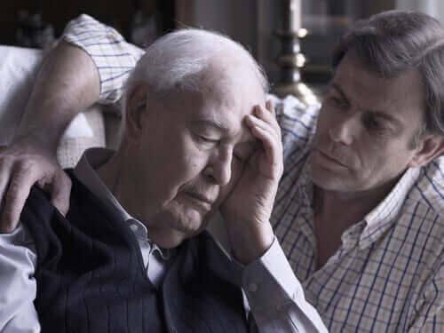 man med alzheimers