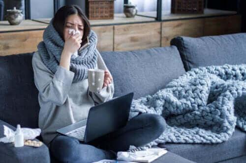 Varför influensan sprider sig mer på vintern