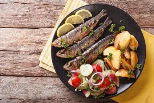 De 3 huvudsakliga fördelarna med sardiner