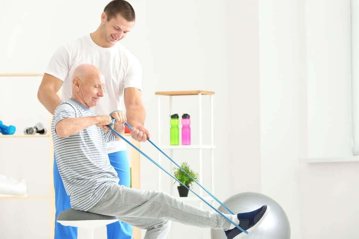 övningar med träningsband