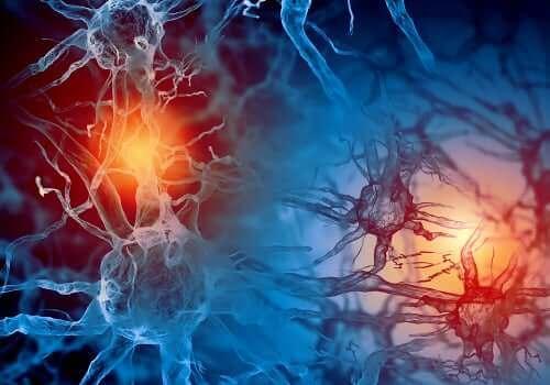 Epilepsi och amning: en animering över elektrisk aktivitet i hjärnan.