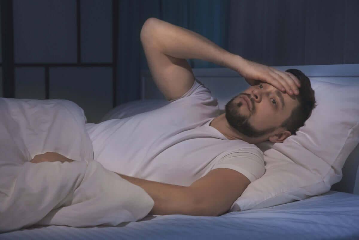 Sömnlöshet på grund av stress