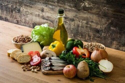 Medelhavskostens effekt på tarmhälsan