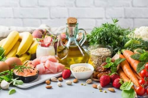 Vissa livsmedel i medelhavskosten är fördelaktiga för tarmfloran