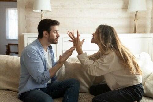 din partner bråkar och misshandlar dig verbalt