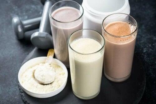 Det anabola fönstret: proteinshakes och proteinpulver