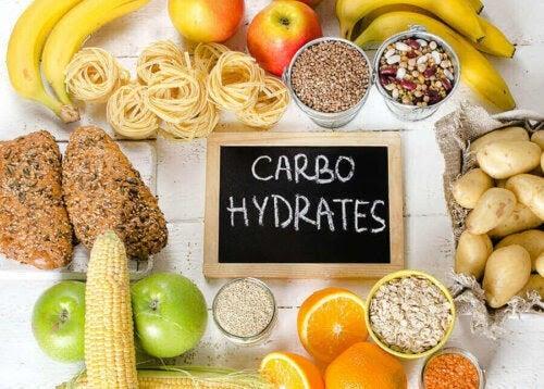 vad gör matsmältningsenzymer: kolhydratrika livsmedel