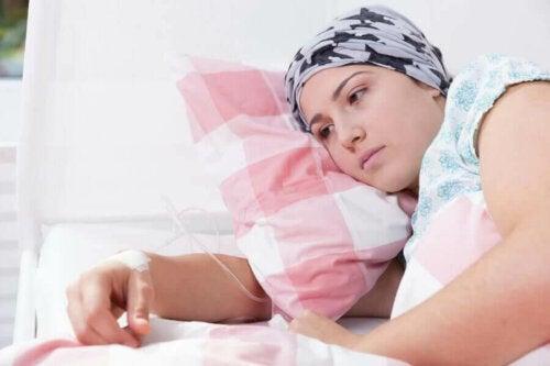Cancer påverkar den emotionella hälsan, inte bara den fysiska
