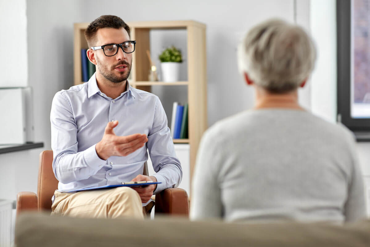 Inlärd hjälplöshet: terapisession